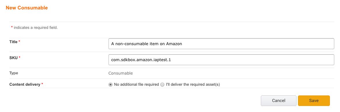 From Google to Amazon - SDKBOX